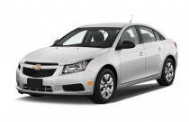 2012 Chevrolet Cruze 4-door Sedan LS Angular Front Exterior View