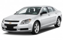 2012 Chevrolet Malibu 4-door Sedan LS w/1LS Angular Front Exterior View