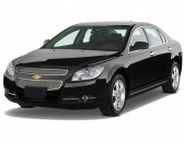 2012 Chevrolet Malibu 4-door Sedan LTZ w/1LZ Angular Front Exterior View