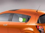 2012 Chevrolet Sonic EcoLogic Label