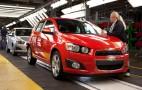 2012 Chevrolet Sonic Hits Magic Mark: 40-MPG Highway Rating