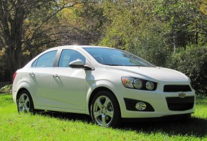 2012 Chevrolet Sonic LTZ Sedan: Weekend Test Drive