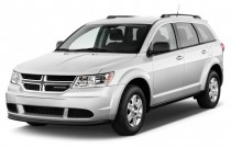 2012 Dodge Journey FWD 4-door SXT Angular Front Exterior View