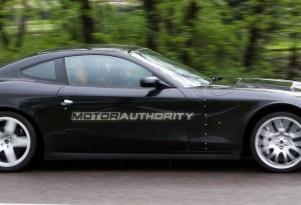 2012 Ferrari 612 Scaglietti replacement spy shot