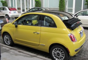 2012 Fiat 500 Cabrios, Manuals More Popular Than Projected
