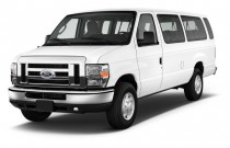 2012 Ford Econoline Wagon E-350 Super Duty XL Angular Front Exterior View