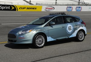 2012 Ford Focus Electric NASCAR pace car