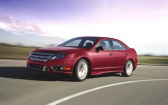 Outgoing Ford Fusion Racks Up Record Sales