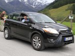 2012 Ford Kuga facelift spy shots