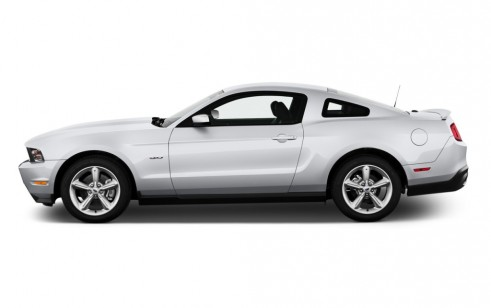 2012 Ford Mustang 2-door Coupe GT Premium Side Exterior View