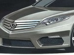 2012 Honda Accord Euro preview sketch