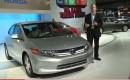 2012 Honda Civic Hybrid at New York Auto Show, April 2011
