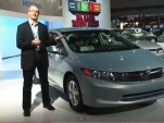 2012 Honda Civic Natural Gas: Video Of Alternative-Fuel Car