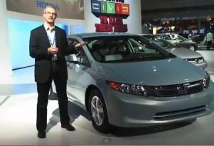 2012 Honda Civic Natural Gas: Video Of Alternative-Fuel Car