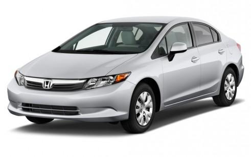 2012 Honda Civic Sedan 4-door Auto LX Angular Front Exterior View
