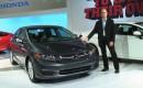 2012 Honda Civic sedan at New York Auto Show, April 2011