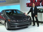 2012 Honda Civic sedan at New York Auto Show, April 2011