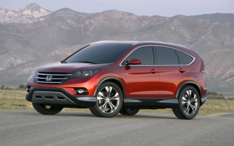 2012 Honda CR-V Concept Debuts In Anaheim
