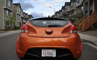 Six-Month Road Test Hyundai Veloster: Visibility Challenges