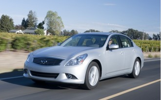 2013: Infiniti Ups EX, FX SUVs to 37--But Drops G25 Sedan