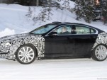 2012 Jaguar XF facelift spy shots