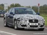 2012 Jaguar XFR facelift spy shots