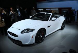 2012 Jaguar XKR-S Convertible live photos