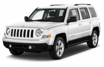 2012 Jeep Patriot FWD 4-door Latitude Angular Front Exterior View