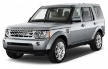 2012 Land Rover LR4 4WD 4-door HSE Angular Front Exterior View