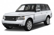 2012 Land Rover Range Rover 4WD 4-door HSE Angular Front Exterior View