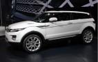 2010 Paris Auto Show: 2011 Range Rover Evoque Live Photos