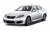 2012 Lexus IS F 4-door Sedan Angular Front Exterior View
