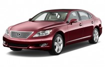 2012 Lexus LS 460 4-door Sedan L RWD Angular Front Exterior View