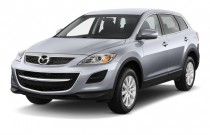 2012 Mazda CX-9 FWD 4-door Sport Angular Front Exterior View