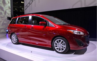 2012 Mazda5 On Sale January 2011, Priced From $19,990
