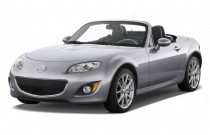 2012 Mazda MX-5 Miata 2-door Convertible Hard Top Auto Grand Touring Angular Front Exterior View