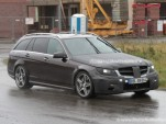 2012 Mercedes-Benz C-Class AMG Estate spy shotsSpy