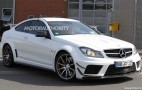 Mercedes-Benz C63 AMG Coupe Black Series Spied With Track And Aero Packages