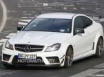 2012 Mercedes-Benz C63 AMG Coupe Black Series fitted with Track and Aerodynamics packages