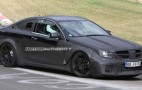 2012 Mercedes-Benz C63 AMG Coupe Black Series Spy Shots