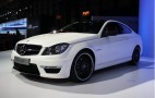 2012 Mercedes-Benz C63 AMG Coupe: 2011 New York Auto Show Live Photos