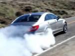 2012 Mercedes-Benz CLS AMG burnout