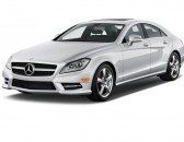 2012 Mercedes-Benz CLS Class 4-door Sedan 4.6L RWD Angular Front Exterior View