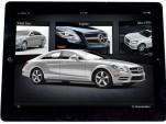 2012 Mercedes-Benz CLS-Class Apple iPad app