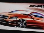 2012 Mercedes-Benz CLS63 AMG rendering