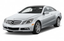2012 Mercedes-Benz E Class 2-door Coupe 3.5L RWD Angular Front Exterior View