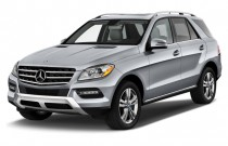 2012 Mercedes-Benz M Class 4MATIC 4-door 3.5L Angular Front Exterior View