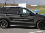 2012 Mercedes-Benz ML63 AMG spy shots