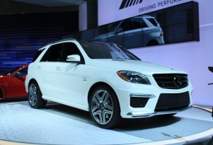 2012 Mercedes-Benz ML 63 AMG live photos