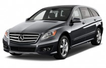 2012 Mercedes-Benz R Class 4MATIC 4-door 3.5L Angular Front Exterior View